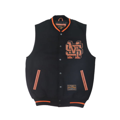 """ALL STAR / MONOGRAM"" Varsity Vest Jacket"