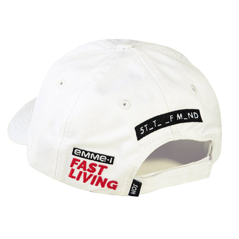 """FAST LIVING"" <br /> dad hat"