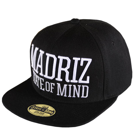 """Madrid 5OM"" <br /> snapback black"