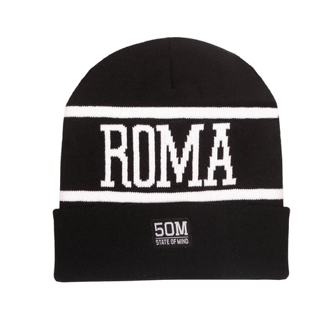 """Roma celebration"" <br /> beanie black"