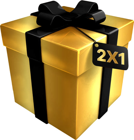 """2 X 1 GIFT PACK"" Gold Box 2 felpe"