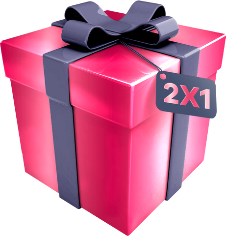 """2 X 1 GIFT PACK"" Box 2 shorts"