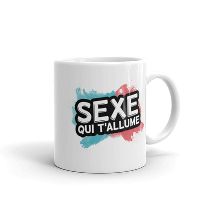 The Morning-After Mug (French Logo)