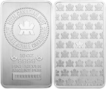 Load image into Gallery viewer, 10 Oz Silver Bar