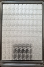 Load image into Gallery viewer, 100 Gram Silver Bar (1 gram breakable wafer)