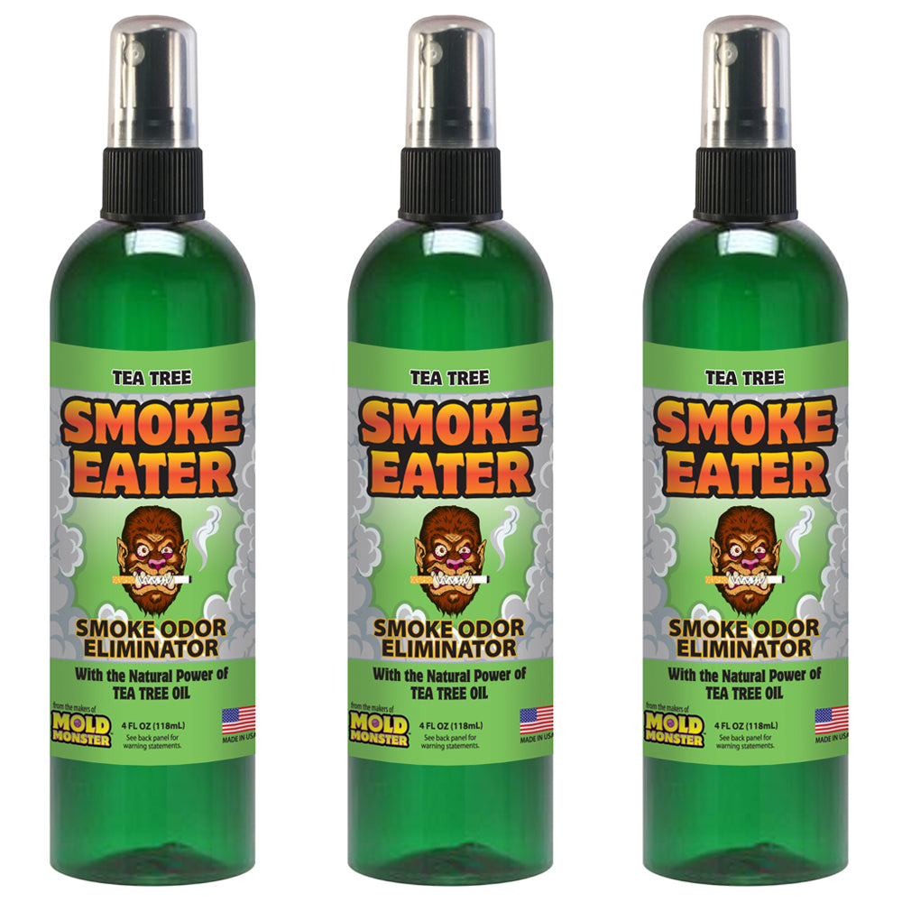 Smoke Eater - Tea Tree, 4 oz. (3 Pack)
