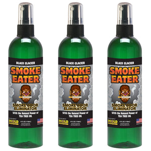 Smoke Eater - Black Glacier, 4 oz. (3 pack)