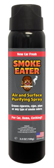 Smoke Eater Aerosol - New Car Fresh, 3.5 oz.