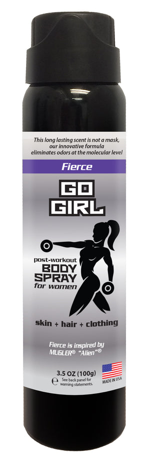 Go Girl - Women's Post Workout Body Spray 3.5 oz (FIERCE)