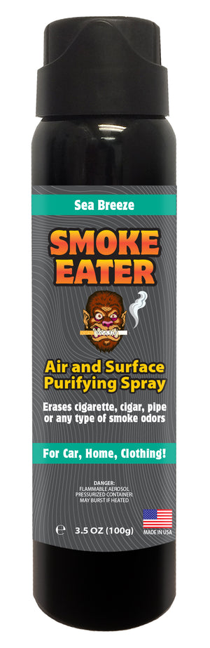 Smoke Eater Aerosol - Sea Breeze, 3.5 oz.
