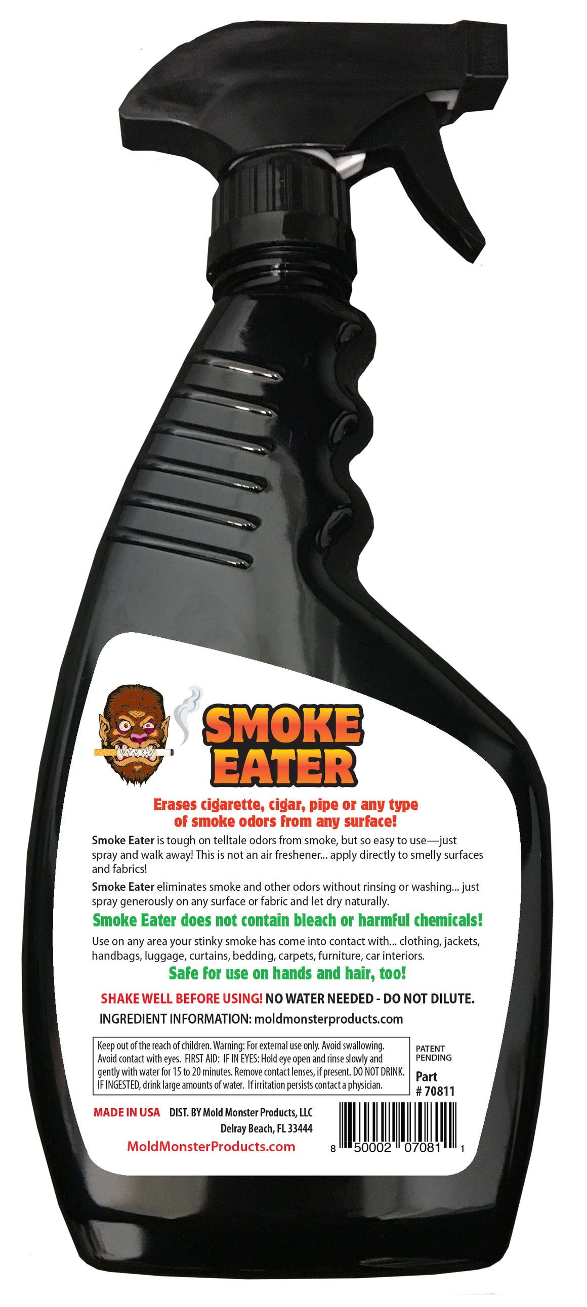 Smoke Eater - Fresh Grapefruit, 22 oz.