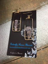 Load image into Gallery viewer, Kunzite Earrings