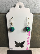 Load image into Gallery viewer, Synthetic Opal 14k Gold Filled Earrings