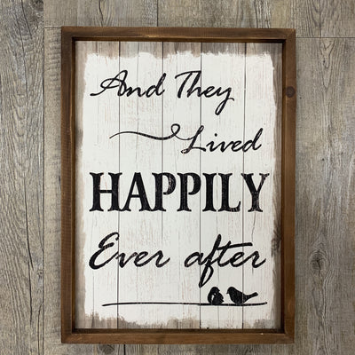 And they lived happily ever after- Natural