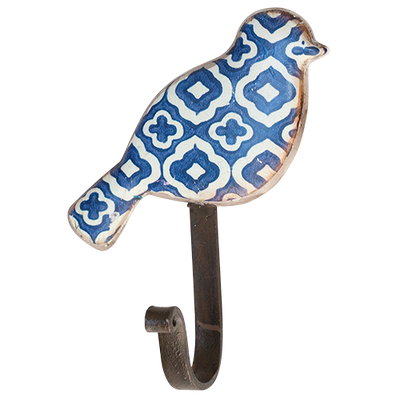 Pressed Metal Bird Hook- Aegean 2