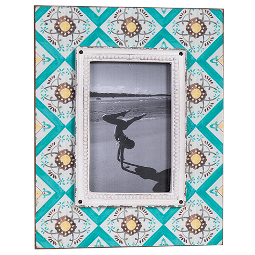 Photo Frame-Antares 4x6 teal