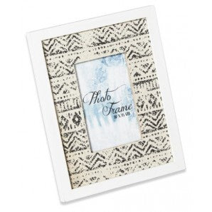 Ikat Wooden Picture Frame