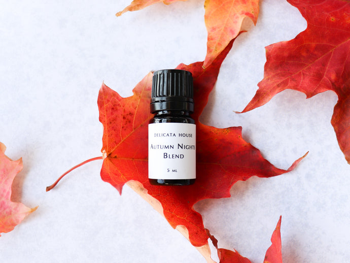Diffuser Blend - Autumn Nights Diffuser Blend - Fall Essential Oil Blend - Fall Aromatherapy Blend - Autumn Diffuser Blend