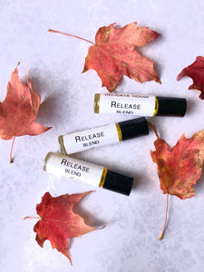 WellSoul Collection - Release Aromatherapy and Flower Essence Set - Release Roller Bottle and Oregano Flower Essence Set - For Release and Freedom - Chakra Healing
