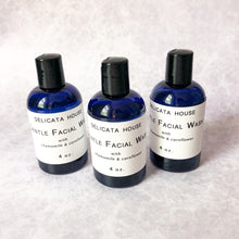 Load image into Gallery viewer, Gentle Facial Wash with Chamomile & Cornflower - Sensitive Skin Facial Wash - Gentle Skin Cleanser - Sensitive Skin Cleanser