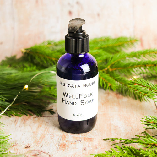 Hand Soap - WellFolk Hand Soap - Aromatherapy Hand Soap - Antimicrobial Hand Soap - Self-Care Gift