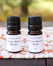 Load image into Gallery viewer, Diffuser Blends - Autumn Aromatherapy Set of Two - Autumn Wellness Blend - Forest Song Blend - Aromatherapy for Immune Strength and Respiratory Wellness