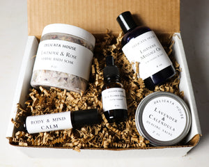 Subscription Box - Seasonal Subscription Box - Four Season Herbal and Aromatherapy Subscription Box - Community Supported Herbalism