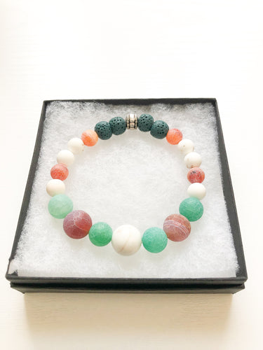 Agate Aromatherapy Diffuser Bracelet