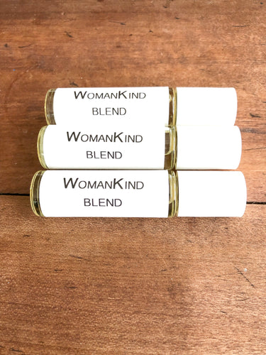 Aromatherapy Roll-on Blend for Women/ For Menstrual Cramps / For Calming / Natural PMS Relief / Roll-On For Bloating / Aromatherapy For Anxiety/ Essential Oils For Sleep