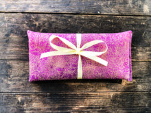 Load image into Gallery viewer, Flax and Lavender Eye Pillow for Headache Relief