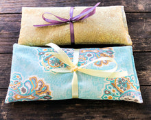 Load image into Gallery viewer, Flax and Lavender Eye Pillow Set of 2