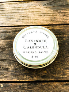 Lavender and Calendula Herbal Aromatherapy Salve