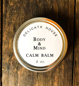 Calm Balm with Lavender, Frankincense and Roman Chamomile