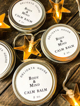 Load image into Gallery viewer, Calm Balm with Lavender, Frankincense and Roman Chamomile