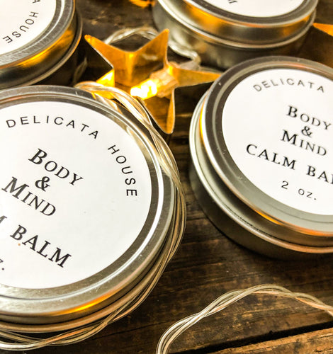 Balm - Body & Mind Calm Balm with Lavender, Frankincense and Roman Chamomile