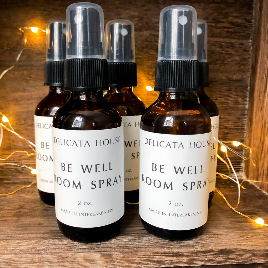 Be Well Aromatherapy Room Spray