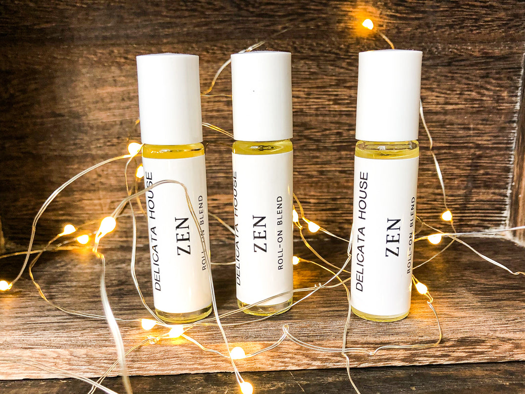 Roller Bottle - Zen Aromatherapy Roll-On Blend for Meditation and Yoga