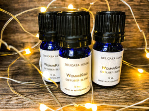 Aromatherapy Blend -PMS Care Aromatherapy Blend / Period Care Diffuser Blend / Women's PMS Essential Oil Blend / Natural PMS Relief / Calming Aromatherapy