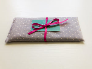 Flax and Lavender Eye Pillow for Yoga and Meditation