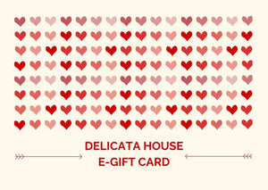 eGift Card - eGift Card - Delicata House eGift Card - Birthday eGift Card - Friend eGift Card