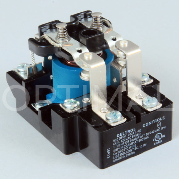 20241-83 Deltrol Relay 900 120VAC 30A Surface Mount