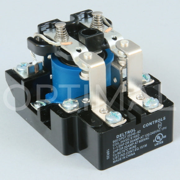 20245-82 Deltrol Relay 900 24VDC 30A Surface Mount