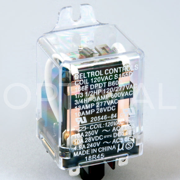20546-84 Deltrol Relay 166F 120VAC 13A Side Flange