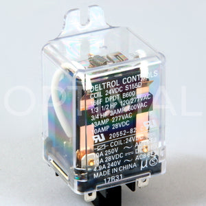 20552-82 Deltrol Relay 166F 24VDC 13A Side Flange