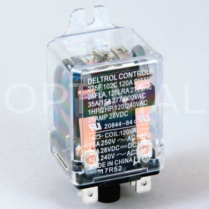 20844-84 Deltrol Relay 275F 120VAC 35A Side Flange