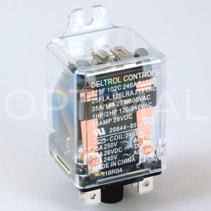 20844-85 Deltrol Relay 275F 240VAC 35A Side Flange