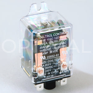 20852-81 Deltrol Relay 275F 12VDC 35A Side Flange