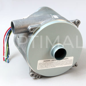 "117640-51 Ametek Windjammer Brushless Blower 5.7"" 240VAC 64.81CFM 29.14 in.H2O Bypass Electrical Closed Loop_inlet view"