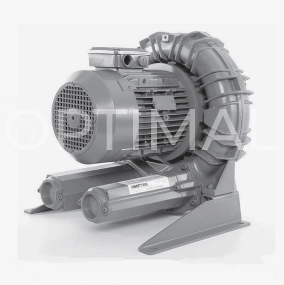 DR833BB72M 081702 ROTRON Regen Blower 230/460VAC 10.0 HP Three Phase