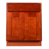 Cherry Shaker Sink Base Cabinet 27-33